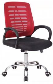 Офисный стул Vangaloo, черный/красный