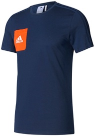 Adidas Tiro 17 T-Shirt BQ2663 Blue 2XL
