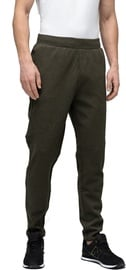 Audimas Cotton Tapered Fit Sweatpants Olive 184/XL