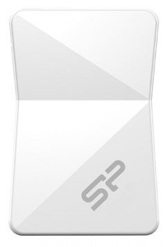 Silicon Power 8GB Touch T08 USB 2.0 White