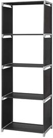 Songmics Storage Shelves Black 147cm
