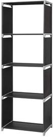 Songmics Storage Shelves Black 147cm