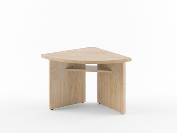Skyland Born B 306 Desk Extension Left Oak Devon