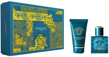 Набор для мужчин Versace Eros 30 ml EDT + 50 Shower Gel New Design