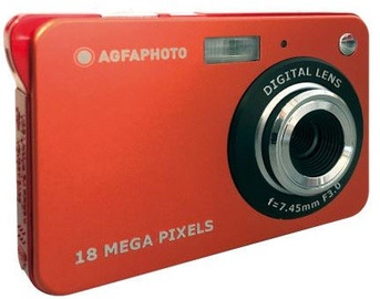 AgfaPhoto DC5100 Compact Camera Red