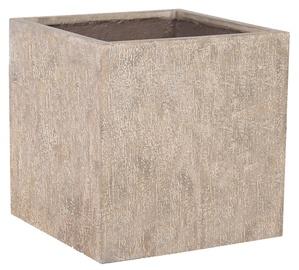 Home4you Sandstone Flowerpot 72436 40x40xH40cm Sand