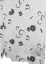 Штора для ванной Ridder Anda 303140, белый/черный, 2000 мм x 1800 мм