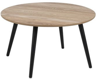 Home4you Coffee Table Stafford 80x45cm Black/Wood