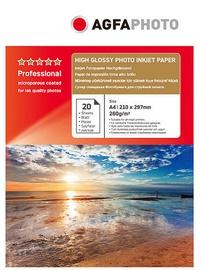 Фотобумага AgfaPhoto Professional High Glossy Photo Inkjet Paper A4 260g 20pcs