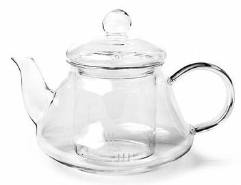 Fissman Tea Pot With Glass Infuser 1l