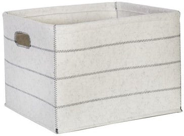 Home4you Max Felt 1 46x36xH30cm Basket White