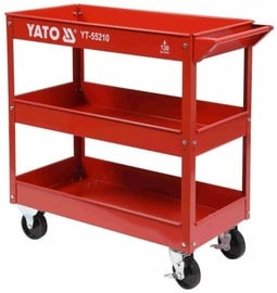 Yato YT-55210 Tool Trolley 3 Storage Compartments