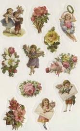 Herlitz Stickers Flower Bouquets