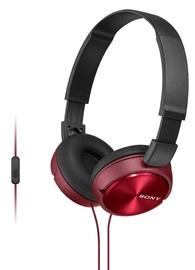 Ausinės Sony MDR-ZX310AP Red