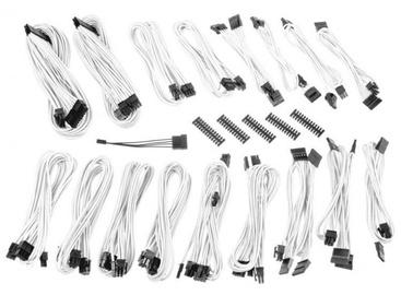 BitFenix Alchemy 2.0 CSR PSU Cable Kit, balta