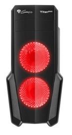 Natec Titan 800 Midi Tower Black/Red