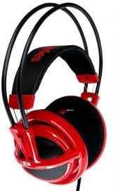 Žaidimų ausinės Steelseries Siberia V2 Dragon Edition Black/Red