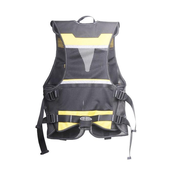 Stanley Tool Vest 420x580x470mm Black Yellow