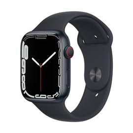 Умные часы Apple Watch Series 7 GPS + LTE 45mm Aluminum, серый