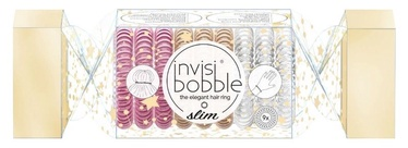 Invisibobble The Wonderfuls Slim Hair Rings 9pcs Trio Cracker