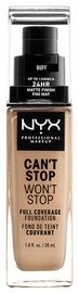 NYX Can't Stop Won't Stop Full Coverage Foundation 30ml Buff