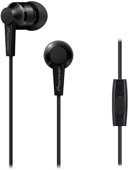 Ausinės Pioneer SE-C3T In-Ear Earphones Black