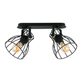 LAMPA GRIESTU ALANO BLACK 2121 2X60W E27