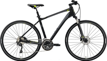 Merida Crossway 300 Black/Yellow 55cm/L 2019