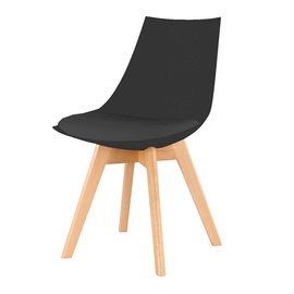 Valgomojo kėdė PP-683, juoda