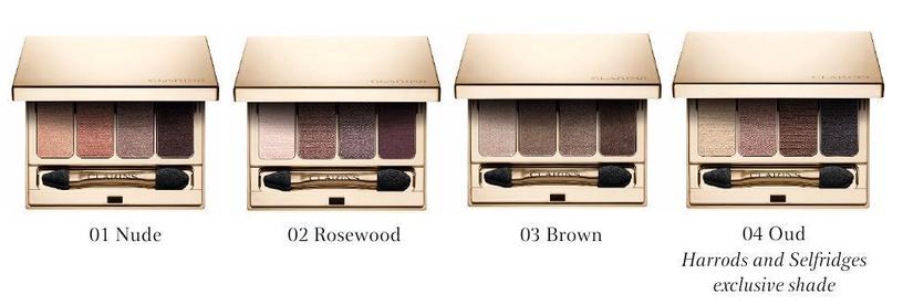 Clarins 4 Colour Eyeshadow Palette 6.9g 01