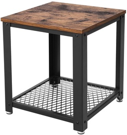 Songmics End Table Brown/Black 40.2x45x40.2cm