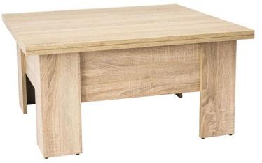 Signal Meble Ola Coffee Table 80x90cm Oak Sonoma