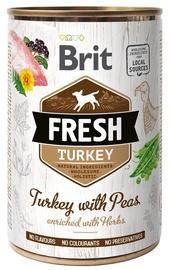 Brit Fresh Turkey & Peas 400g