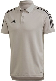 Adidas Mens Condivo 20 Polo Shirt ED9247 Grey XL