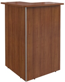 Skyland Dex DMC 88 Left Corner Reception Desk Walnut