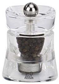 Peugeot Saveurs Baltic Acrylic Pepper Mill 8cm