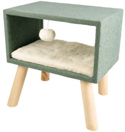 Karlie Flamingo Scandi Cube Bed Green