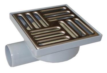 Grīdas traps Aniplast TQ5112 150x150mm, D50mm