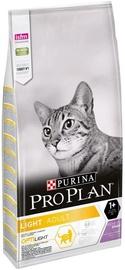 Purina Pro Plan Light Adult Optilight Cat Food With Turkey 10kg