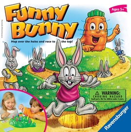 Galda spēle Ravensburger Funny Bunny R22081, EN