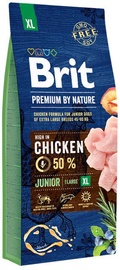 Brit Premium by Nature Junior XL Dog Chicken 15kg