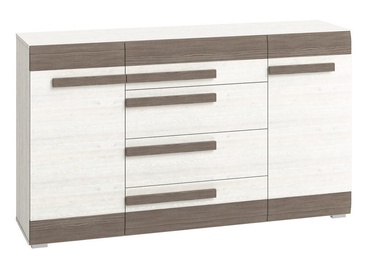ML Meble Blanco 06 Chest Of Drawers White/Gray