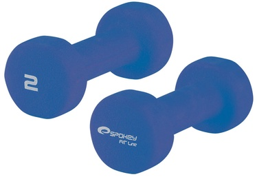 Spokey Shape III Dumbbells 2 x 2kg