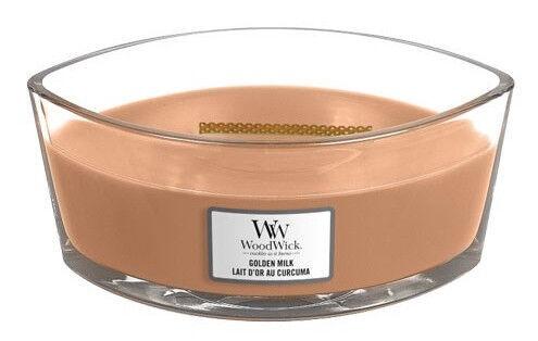 WoodWick Golden Milk Candle 454g