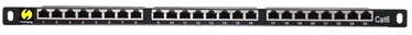 Netrack Patch Panel 19'' CAT 6 FTP/STP 24-Port + Shelf
