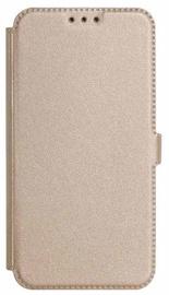 Mocco Shine Book Case For Samsung Galaxy J6 Plus J610 Gold