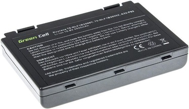 Green Cell Asus K40 K50IN K50IJ K61IC K70IJ 4400mAh