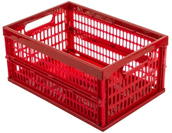 Curver Foldable Plastic Box Red