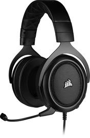 Ausinės Corsair HS50 Pro Stereo, juodos