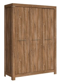 Black Red White Gent Wardrobe 150x210cm Stirling Oak